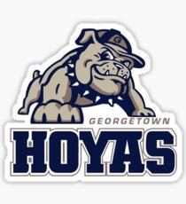 Georgetown Hoyas Sticker