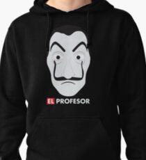 El Profesor La Casa De Papel Pullover Hoodie