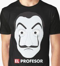El Profesor La Casa De Papel Graphic T-Shirt