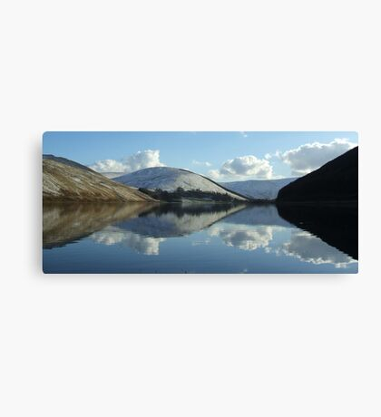 loch of the lowes (pano) Canvas Print