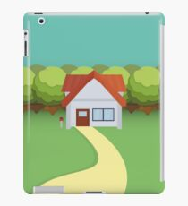 Pallet Town Poster iPad Case/Skin