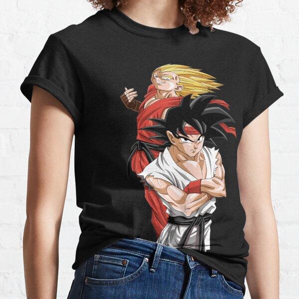 Goku Vegeta - Street Fighter T-shirt classique