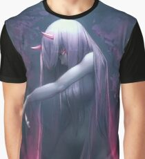 Zero Two Darling in the FRANXX Graphic T-Shirt