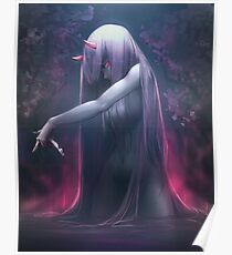 Zero Two Darling in the FRANXX Poster