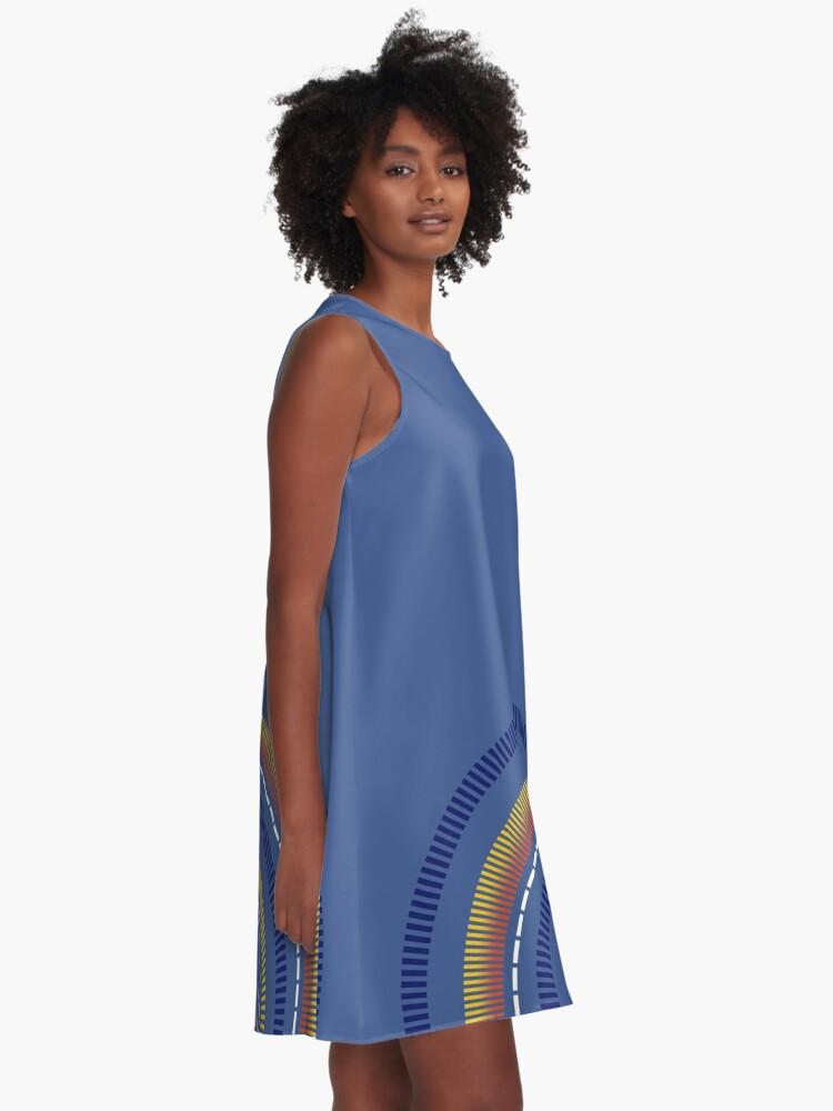Alternate view of Space Queen Sun A-Line Dress