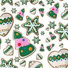 Ginger cookies by Maria Nazarian