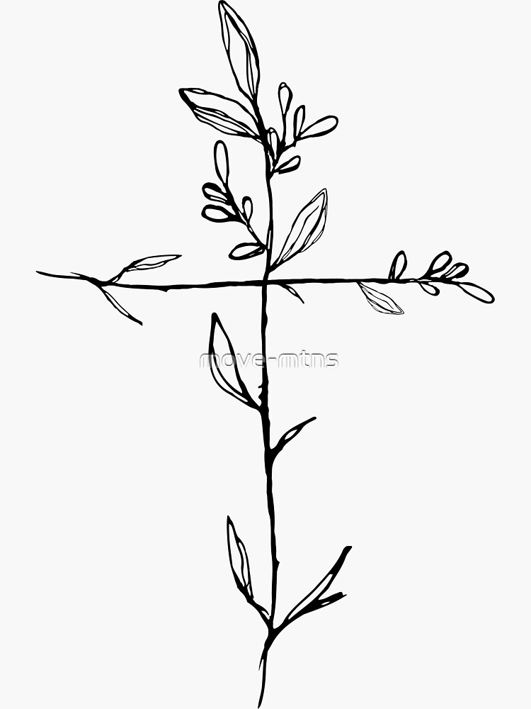 «Twig Cross» par move-mtns