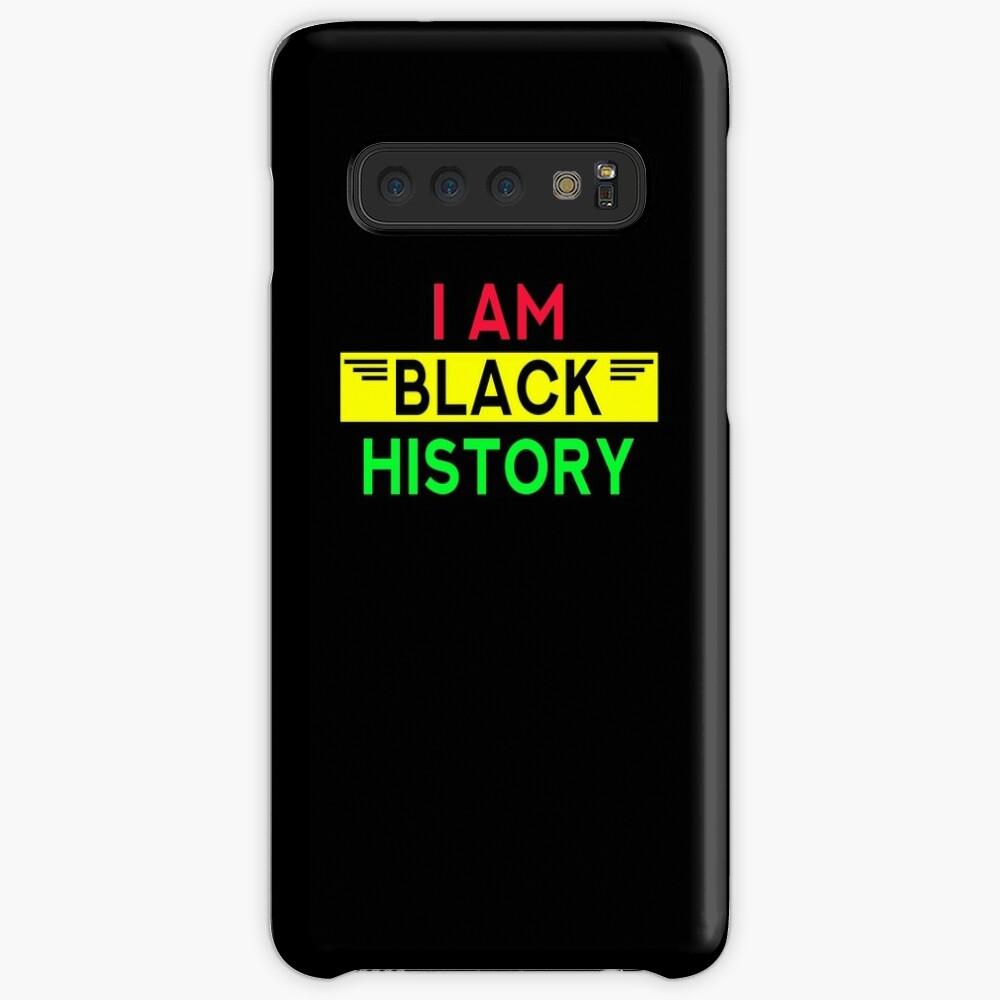 I am black history african american pride Case & Skin for Samsung Galaxy