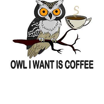 Coffee T shirt - Funny Coffee T-shirt - Coffee Lover Tee by JuditR
