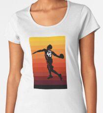 Camiseta premium de cuello ancho Spida Dunk 3