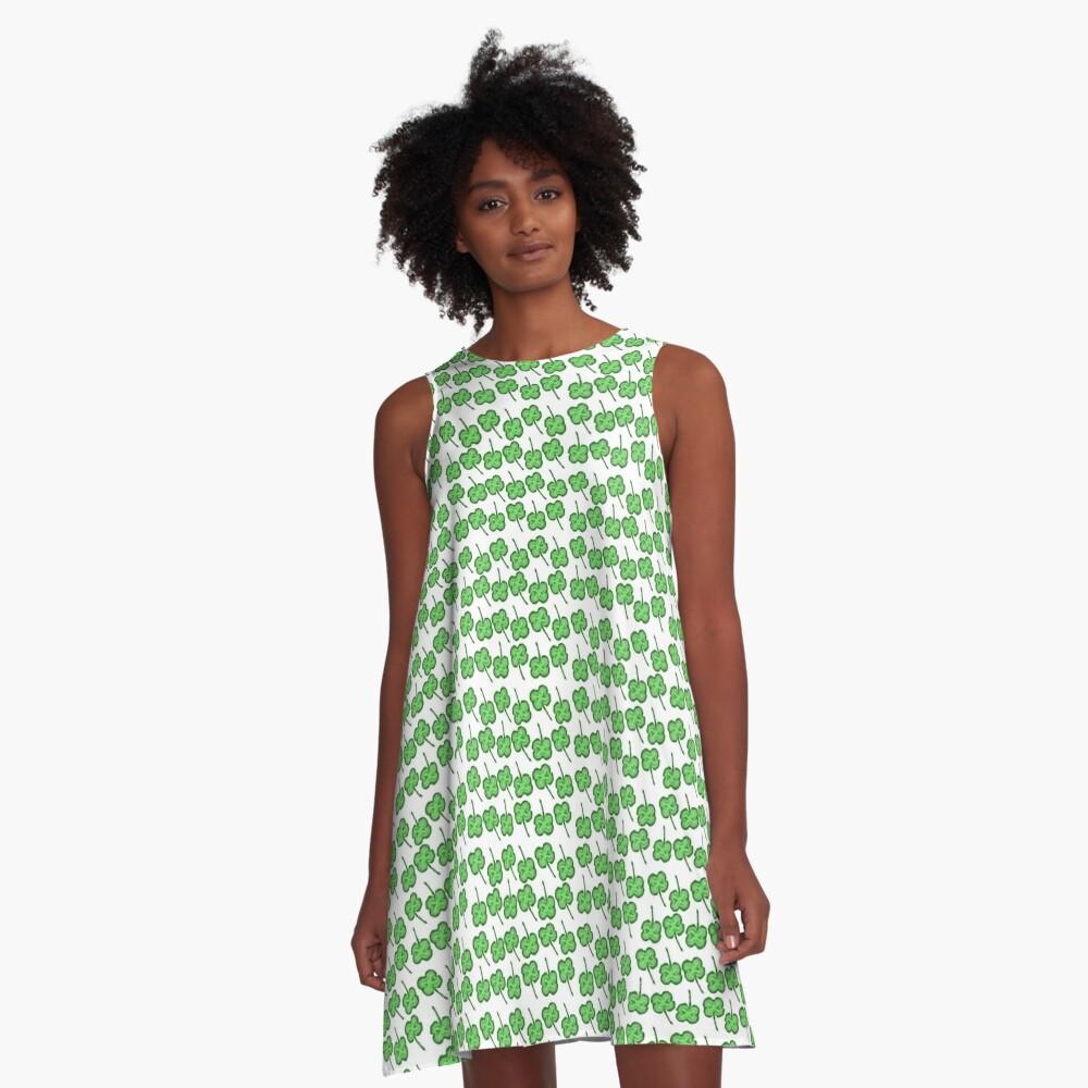 Cloverfield A-Line Dress
