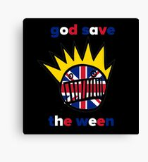 GOD SAVE THE WEEN Canvas Print