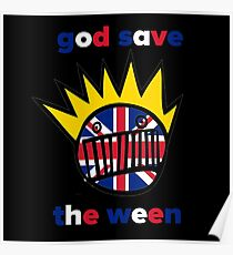 GOD SAVE THE WEEN Poster