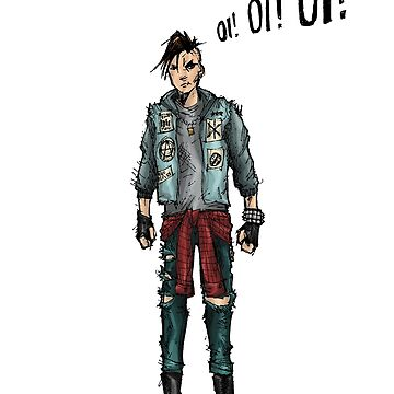 Punk Rock Hero by artbybred