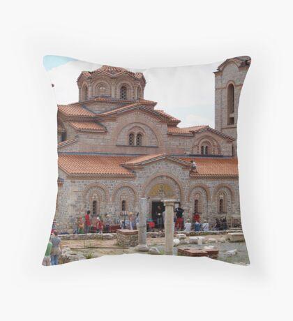 Sveti Kliment Cathedral Throw Pillow