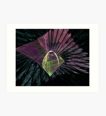 Abstract In Fractal Art Print