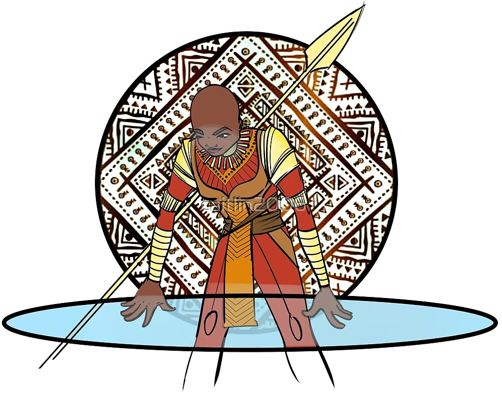 The General (Okoye) by caitlin2006