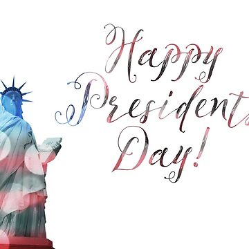 Happy Presidents Day Liberty Bokeh by maydaze