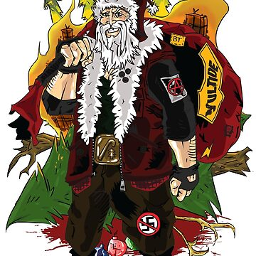 Santa Punk by artbybred