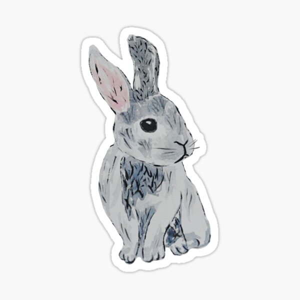 Novelty Bunny Rabbit Switch//Car//Wall Sticker Various Colours Available