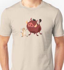 No Worries Amongst Friends Slim Fit T-Shirt