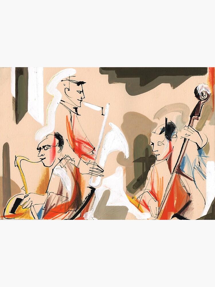 Jazz musicians concert by CatarinaGarcia