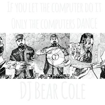 DJ Bear Cole Comic Book by 1stdrop