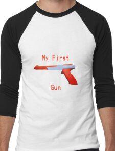My First Gun Men's Baseball ¾ T-Shirt