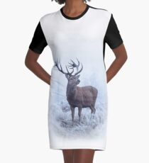 A Fine Frosty Fellow Graphic T-Shirt Dress