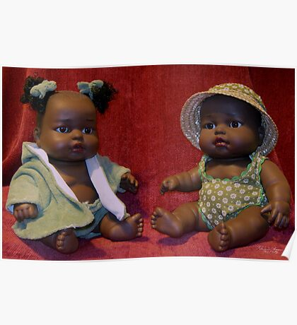 African French Dolls Poster
