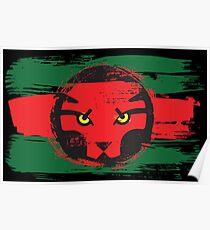 Wakanda Flag Poster