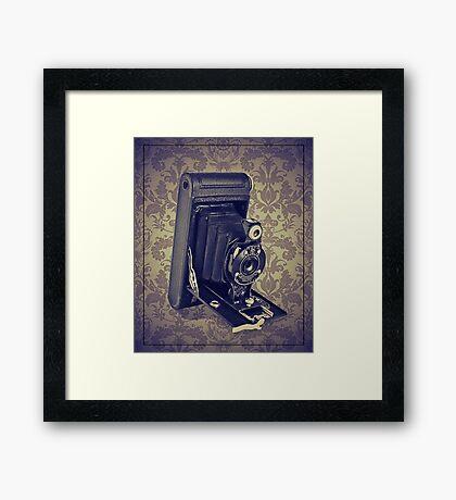 Kodak Hawkeye Camera - Vintage Color Framed Print