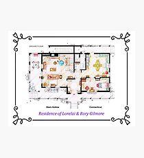 House of Lorelai & Rory Gilmore - Ground Floor Photographic Print