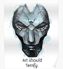 Art Should Terrify Poster