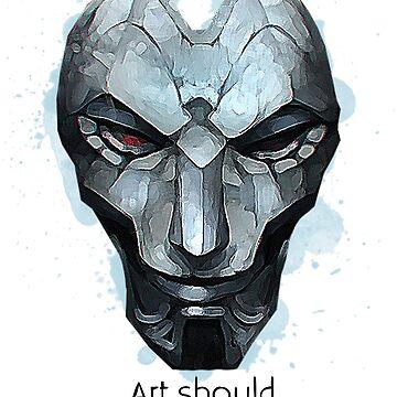 Art Should Terrify by 32BlackRoses