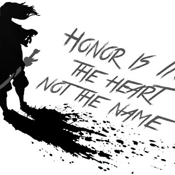 Honor Is In The Heart, Not The Name -Yasuo by 32BlackRoses