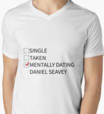 mentally dating daniel seavey Men's V-Neck T-Shirt