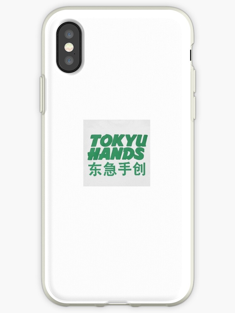 'TOKYU HANDS' iPhone Case by nihaobella
