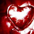 Glass Heart 3 by Yvonne Carsley