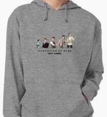 Evolution of Glee || Kurt Lightweight Hoodie