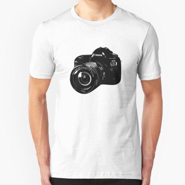 Canon Camera DSLR Slim Fit T-Shirt