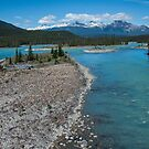 Athabasca River Photography Print by griffingphoto