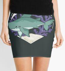 MEGABYTE, the Megalodon Shark Mini Skirt