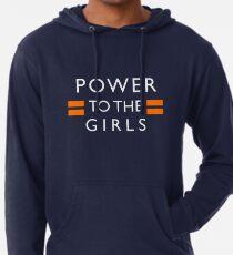Sudadera con capucha ligera Poder para las chicas