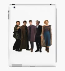 5 new Doctors Doctor Who iPad Case/Skin