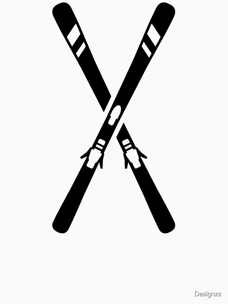Esquí cruzado de Designzz