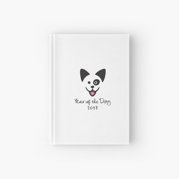 Year of the Dog 2018 Hardcover Journal