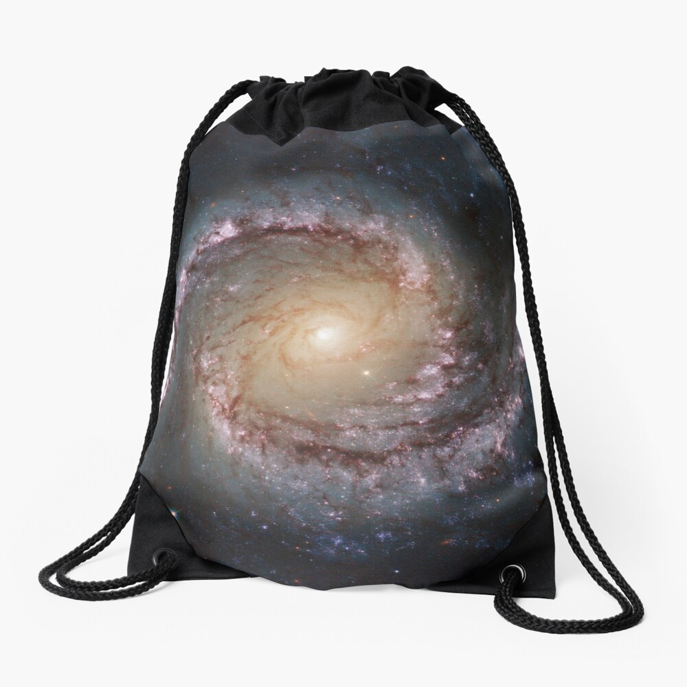 #Grand #Swirls: NGC 1566 #Beautiful #Galaxy, Astronomy, Cosmology, AstroPhysics, Universe Drawstring Bag