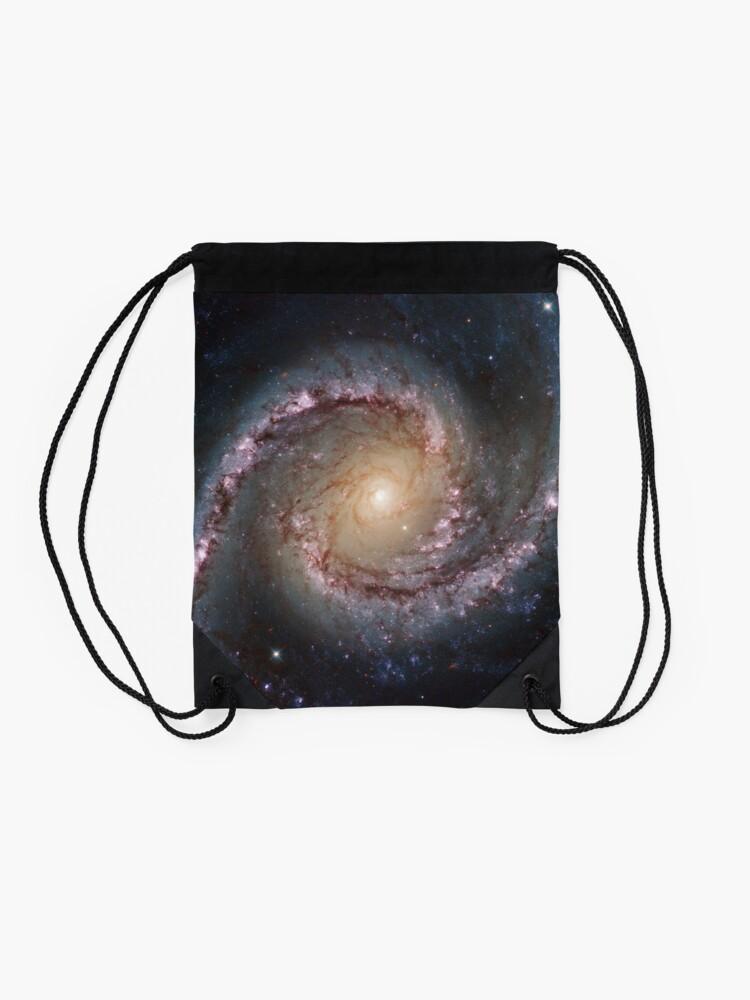 Alternate view of #Grand #Swirls: NGC 1566 #Beautiful #Galaxy, Astronomy, Cosmology, AstroPhysics, Universe Drawstring Bag