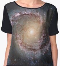 Grand swirls, swirls, hubble, ngc 1566, beautiful, galaxy, million light years, constellation Chiffon Top